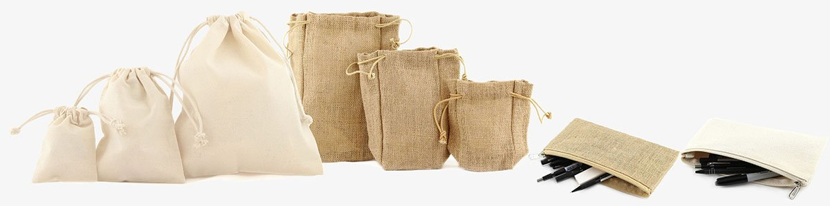 Wholesale Canvas Pouches