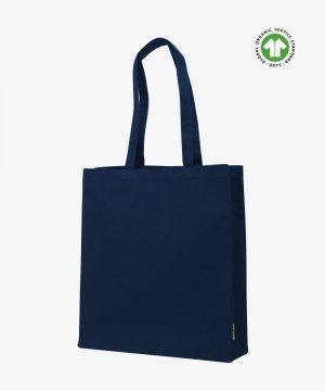 Navy Organic Canvas Bag