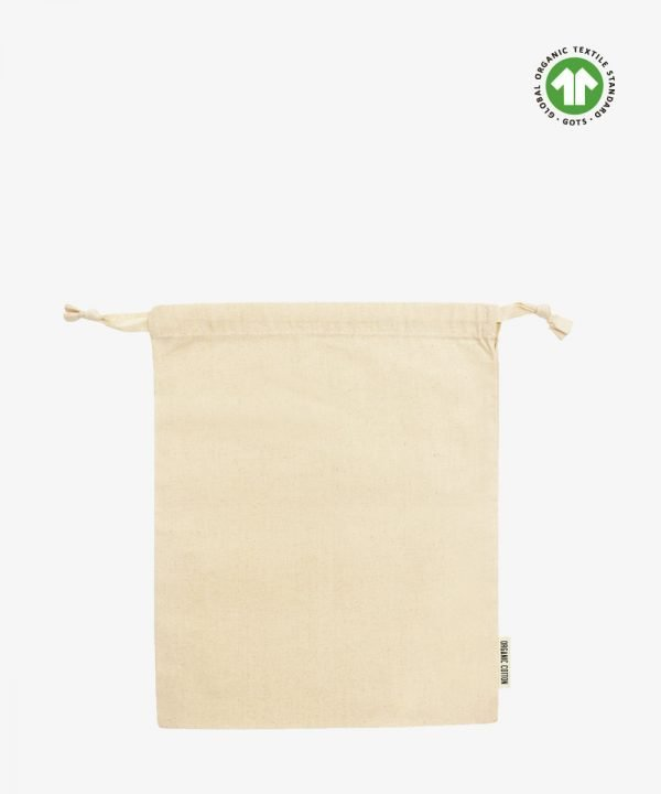 Large Organic Cotton Pouch