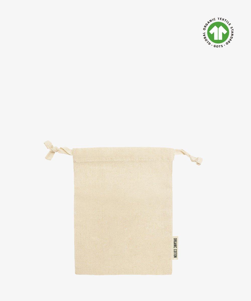 Medium Organic Cotton Pouch