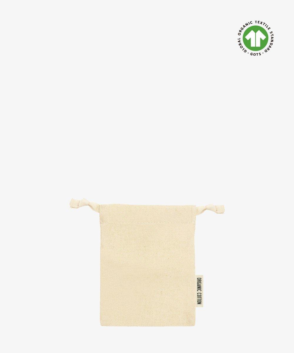 Small Organic Cotton Pouch