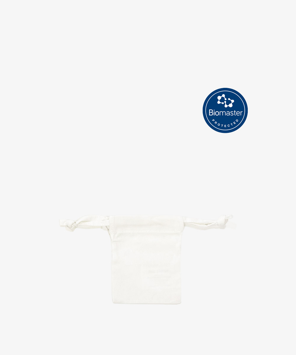 Small Antimicrobial Cotton Pouch